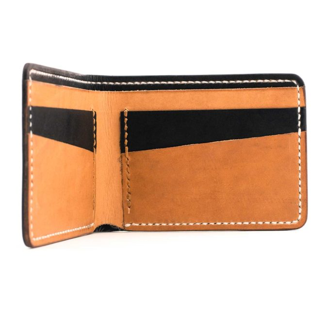 Slim Slacker Bifold Wallet V1 - Contrast Black